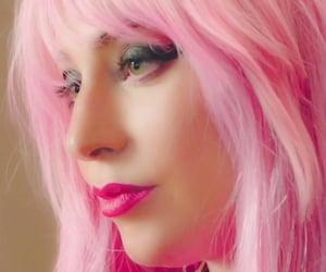 Lady gaga, makeup, and pink image