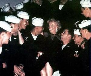 Marilyn Monroe, miss monroe, and troops image