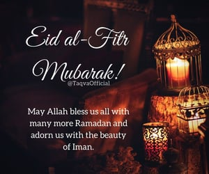 eid, eid mubarak, and greetings image