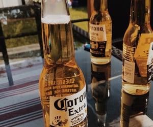 alcohol, beer, and corona image