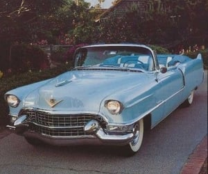 cadillac and vintage image