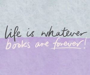 books, bookworm, and life image