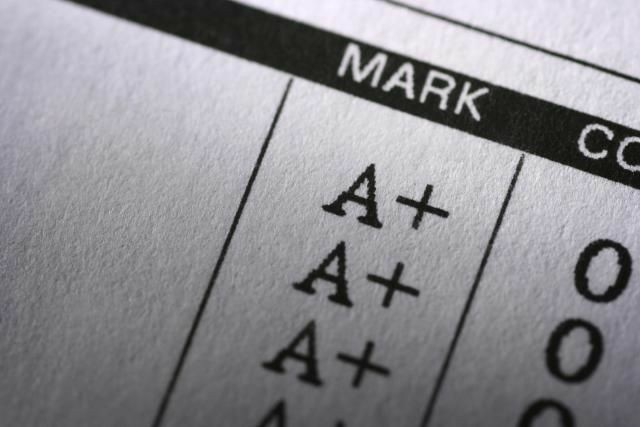 grades, student, and a+ image