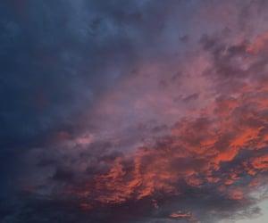 aesthetics, clouds, and dark image