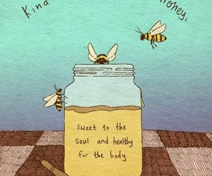 bee, honey, and quotes image