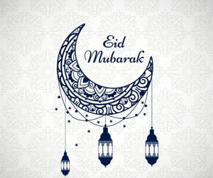 eid, eid mubarak, and islamic image