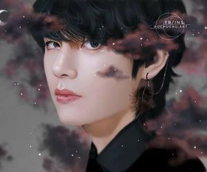 bts, kim taehyung, and bts fanart image
