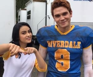 riverdale, veronica lodge, and archie andrews image