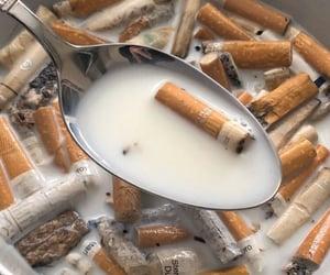 cigarette, grunge, and marlboro image
