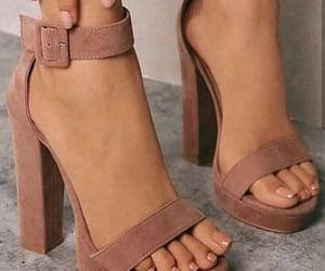 heels, Nude, and nude heels image