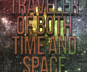 space, time, and traveler image