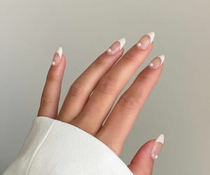 nails, pearls, and white image