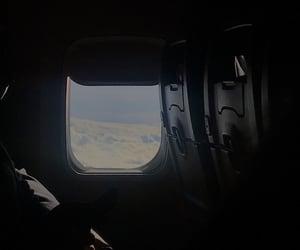 airplane, california, and blue sky image