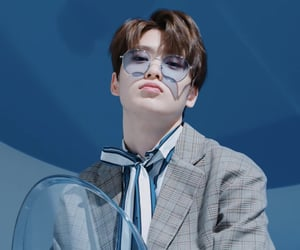blue, boy, and kpop image