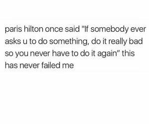quotes, hilton, and paris image