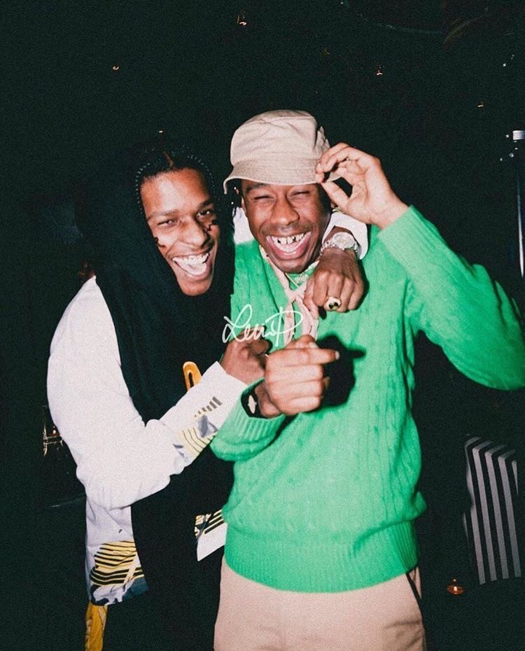 tyler the creator, tyler, and asap rocky image