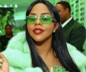 Lil Kim, 90s, and green image
