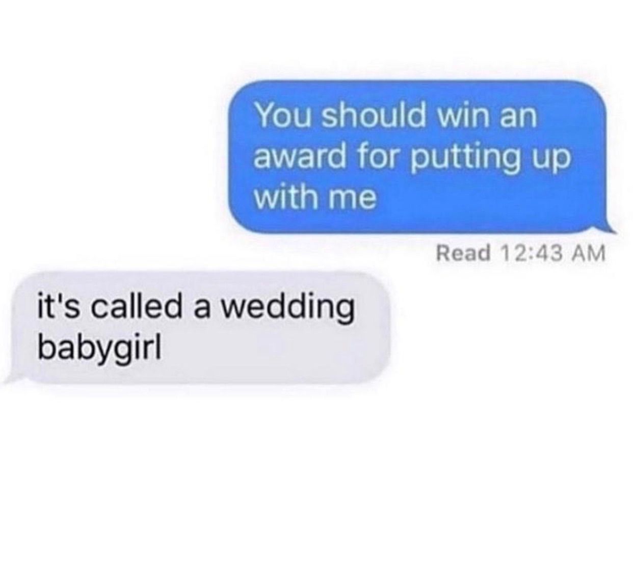 message, text, and wedding image
