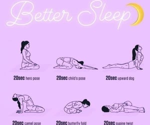 bedtime, fitness, and yogaposes image