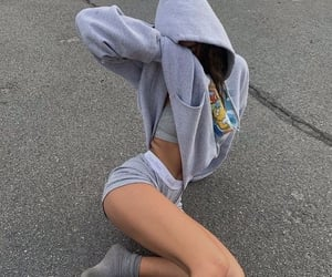 aesthetic, legs, and outfit image