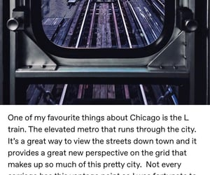 big city, railroad, and chicago image