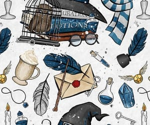 harry potter, wallpaper, and slytherin image