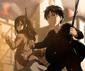 anime, anime girl, and armin image