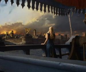 boat, khaleesi, and targaryen image