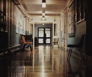 aesthetic, corridor, and hall image