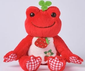strawberries, strawberry, and toy image