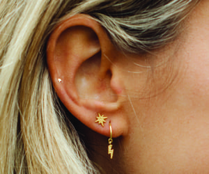 earrings, fashion, and girl image