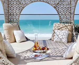 beach, Dubai, and view image