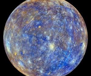 fantasy, mercury, and planet image