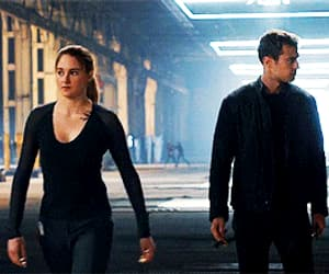 gif, divergent, and divergente image