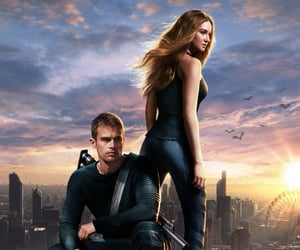 divergent, tris, and four image