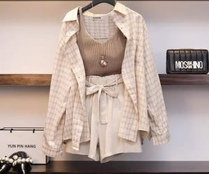 beauty, beige, and clothes image