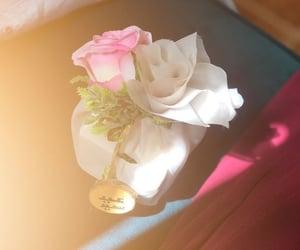 happy eid, eid mubarak, and flower image
