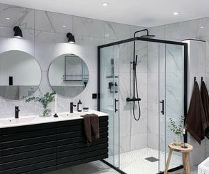 bathroom, diseno, and design image