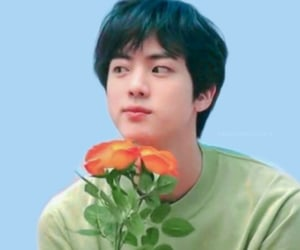 jin, bts, and boy image