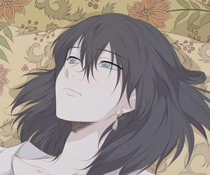 anime, black hair, and ghibli image