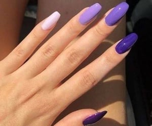 nails and purple image