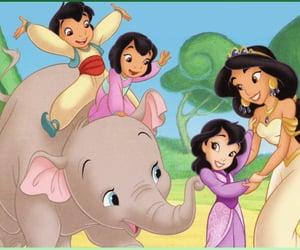 aladdin, mother, and princess image