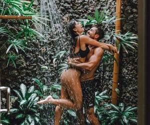 aesthetic, girlfriend, and shower image