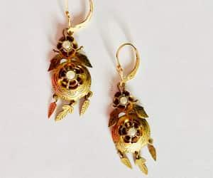 dream catcher, pierced earrings, and dangle earrings image