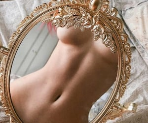 beige, stomach, and body image