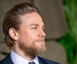 Charlie Hunnam and yes please image