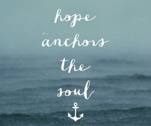 anchor, background, and quote image