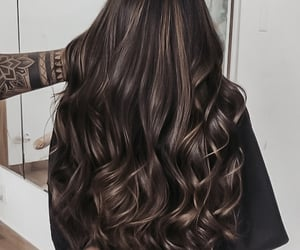 hairstyle, fashion, and brown image