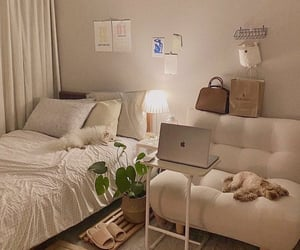 interior, aesthetic, and bedroom image