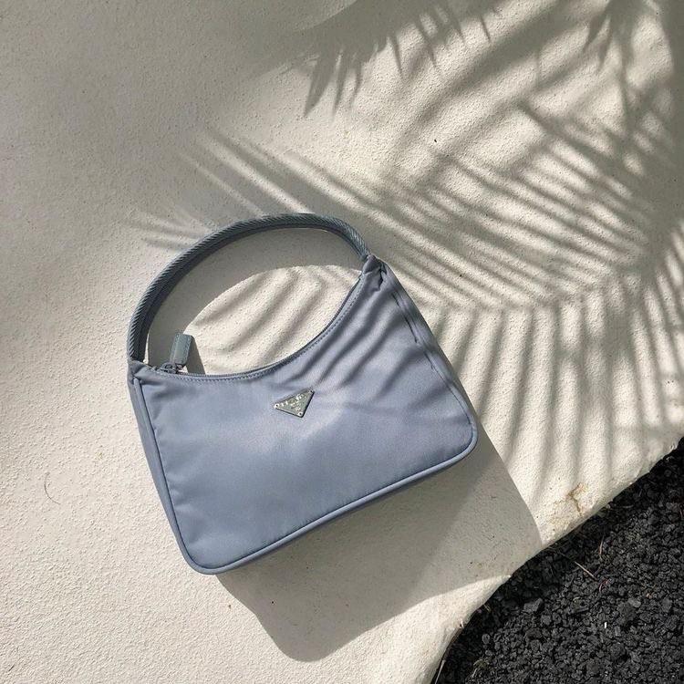 bag, blue, and fashion image